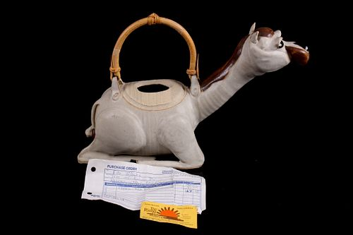 Camel Teapot from Victor Montana 1987