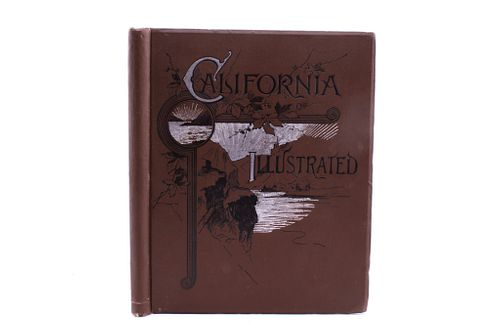1892 1st Ed. California Illustrated: Yellowstone