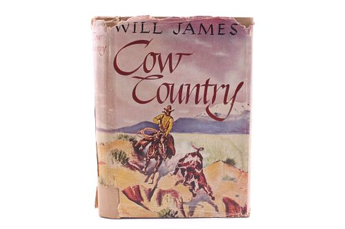 Cow Country by Will James 1st Ed. 1927