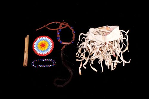 Plains Indian Beadwork Collection c. 1900-
