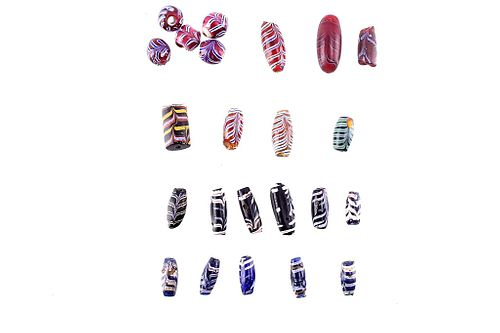 Fancy Feather Trade Bead Collection