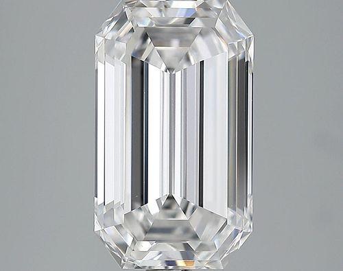 5.03 ct., D/IF, Emerald cut diamond, unmounted, LM-0013