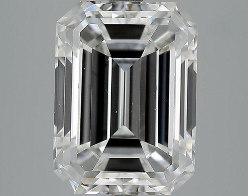 7.01 ct., F/VS1, Emerald cut diamond, unmounted, PK1256