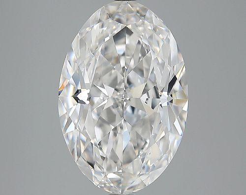 5.43 ct., E/VVS1, Oval cut diamond, unmounted, LM-0179