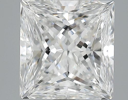 5.01 ct., E/VVS1, Princess cut diamond, unmounted, LM-0015