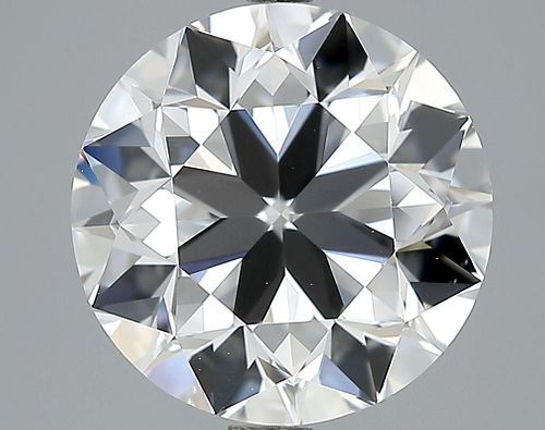 5.02 ct., D/VVS2, Round cut diamond, unmounted, LM-0008