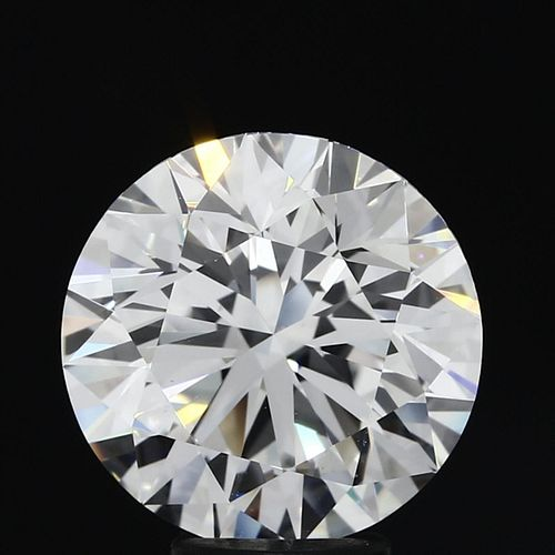5.36 ct., F/VVS2, Round cut diamond, unmounted, MGS-021-09