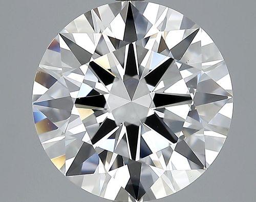 5.47 ct., E/VS2, Round cut diamond, unmounted, MPS-221