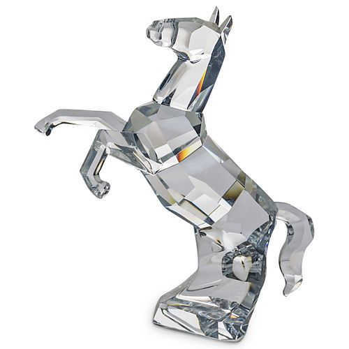 Swarovski Crystal Horse Stallion Figurine