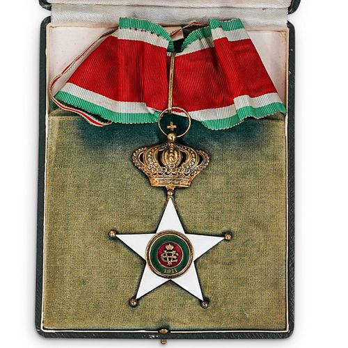 Order of Colonial Merit Commander Medal