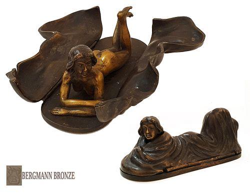 The Sphinx Surprise, F. Bergman Moveable Bronze Statue