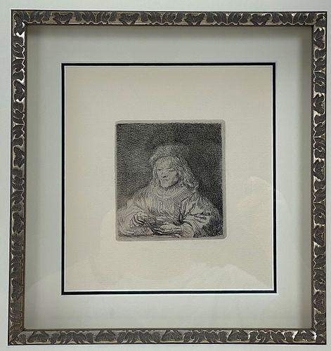 Rembrandt Van Rijn The Card Player