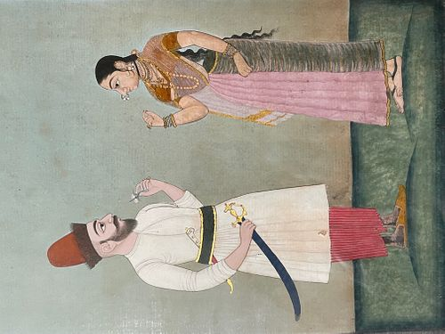 A 19th Century Indian Painting