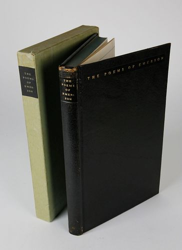 The Poems of Ralph Waldo Emerson with Illustrations by Richard & Doris Beer