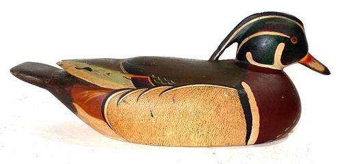Wood Duck Drake by Harold Gibbs.