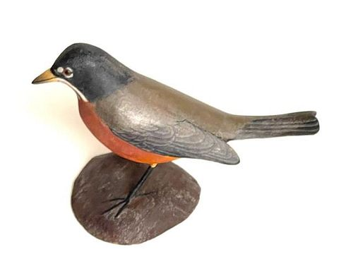 Miniature American Robin by J. Blackstone #92