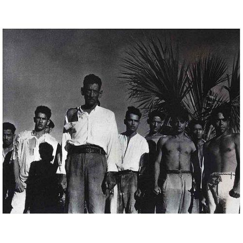 Strand, Paul. Escena de la Película Redes. México, 1934. Fotocuprigrafía, 19.3 x 24.5 cm.