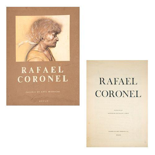 Neuvillate y Ortiz, Alfonso de (Introducción). Rafael Coronel. México: Galería de Arte Misrachi, 1978. 10 láminas a color.