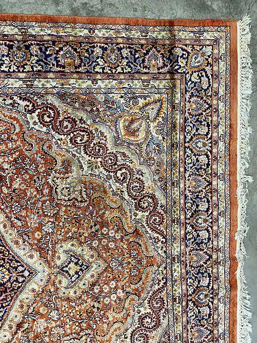 A Large Persian  Kashmar Rug