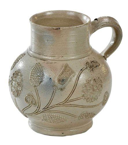 Westerwald White Salt Glazed Stoneware Mug