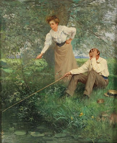 PAUL CHARLES CHOCARNE-MOREAU (FRENCH, 1855-1931).