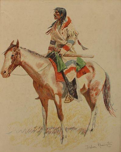 FREDERIC REMINGTON (AMERICAN, 1861-1909).