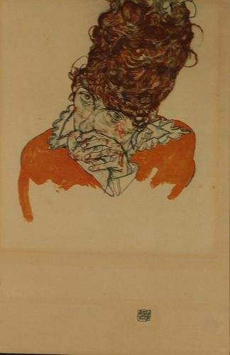 EGON SCHIELE (AUSTRIAN, 1890-1918).