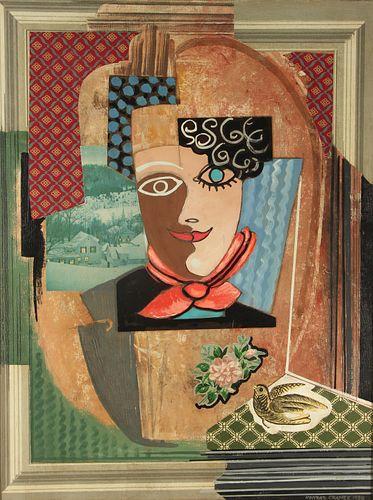 KONRAD CRAMER (AMERICAN,1888 - 1963).