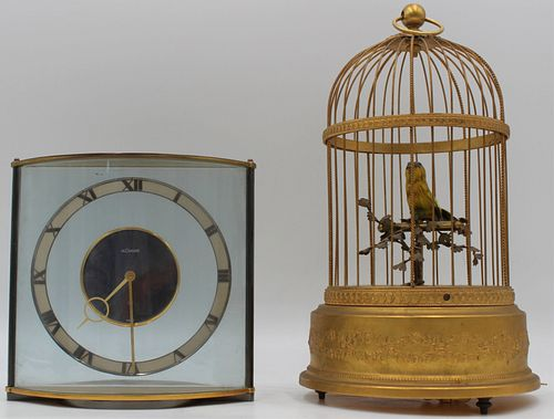 LeCoultre Modernist Clock and an Automaton.