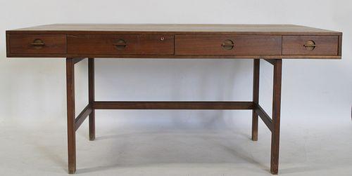 Midcentury Peter Lovig Danish Modern Desk.