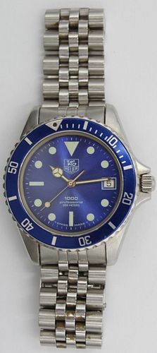 JEWELRY. Tag Heuer Stainless Watch.