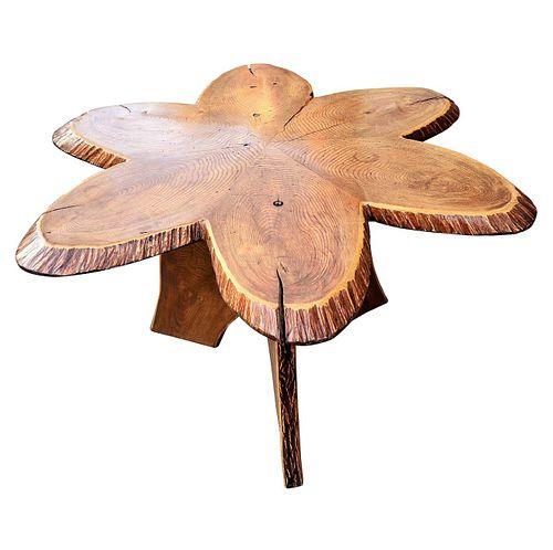 Oak Adirondack Table
