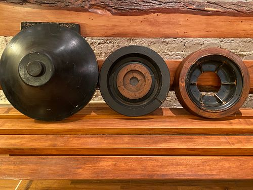 3 Wood Foundry Pieces