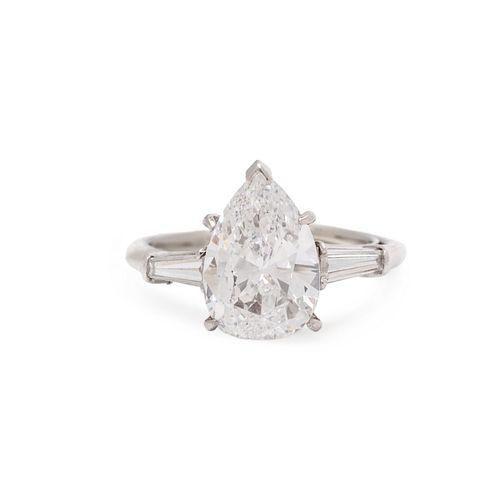 HARRY WINSTON, DIAMOND RING