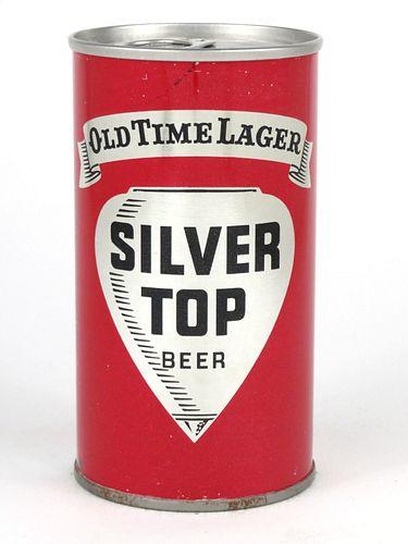 1968 Silver Top Beer (metallic) 12oz Tab Top T124-40