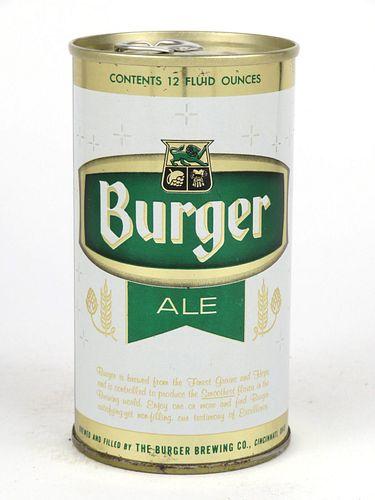 1967 Burger Ale 12oz Tab Top T50-23