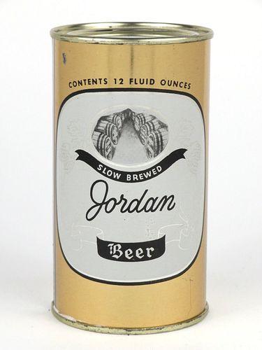 1956 Jordan Beer 12oz Flat Top 86-38