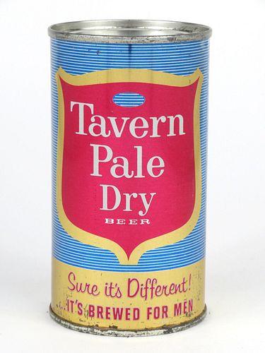 1965 Tavern Pale Dry Beer 12oz Flat Top 138-25