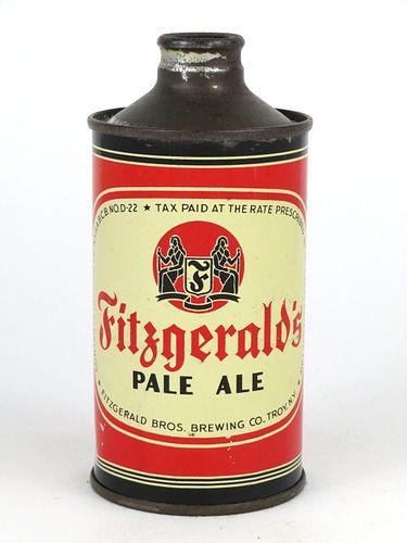 1937 Fitzgerald Pale Ale 12oz J-Spout Cone Top Can 162-32