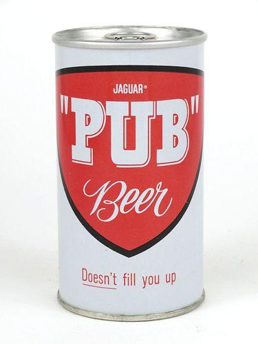 1966 Jaguar Pub Beer 12oz Tab Top T82-25
