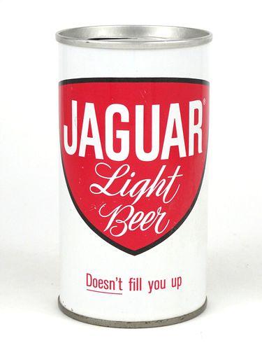 1966 Jaguar Light Beer 12oz Tab Top T82-22