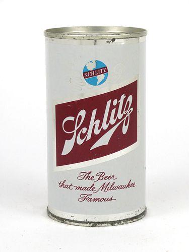 1962 Schlitz Beer 12oz Flat Top 129-10