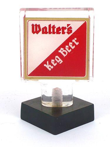1966 Walter's Keg Beer  Acrylic Tap Handle