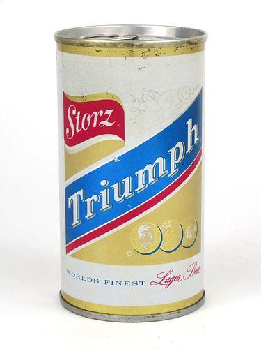 1965 Storz Triumph Beer 12oz Tab Top T128-14