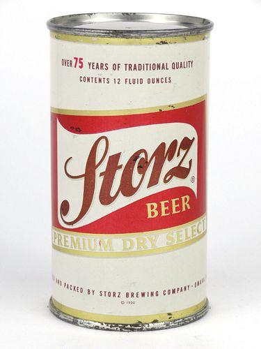 1956 Storz Beer 12oz Flat Top 137-19