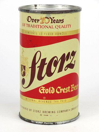 1948 Storz Beer 12oz Flat Top 137-17