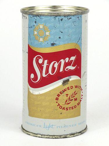 1960 Storz Beer 12oz Flat Top 137-25v