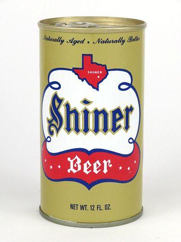 1969 Shiner Beer 12oz Tab Top T124-21