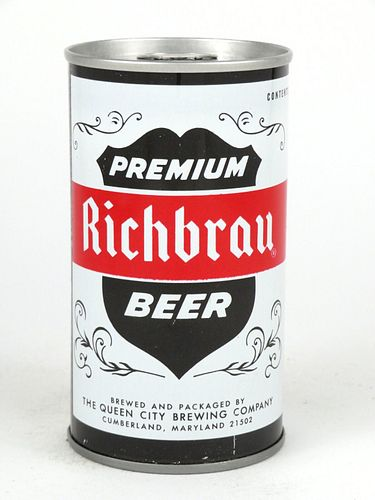 1972 Richbrau Premium Beer 12oz Tab Top T116-09
