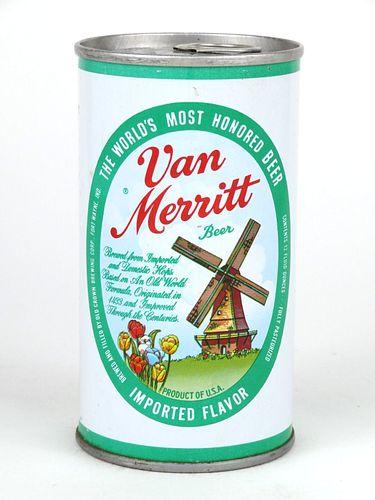 1968 Van Merritt Beer (Fort Wayne) 12oz Tab Top T133-14